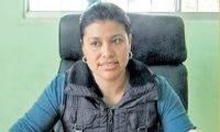 Miriam Segura fue destituida como directora del Hospital Nacional de Nebaj, Quiché, en 2018. (Foto Prensa Libre: Héctor Cordero)