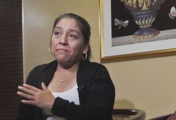 Victorina Morales denunció el año pasado los maltratos contra empleados inmigrantes en propiedades de Donald Trump. (Foto: Twitter/@VOANoticias)