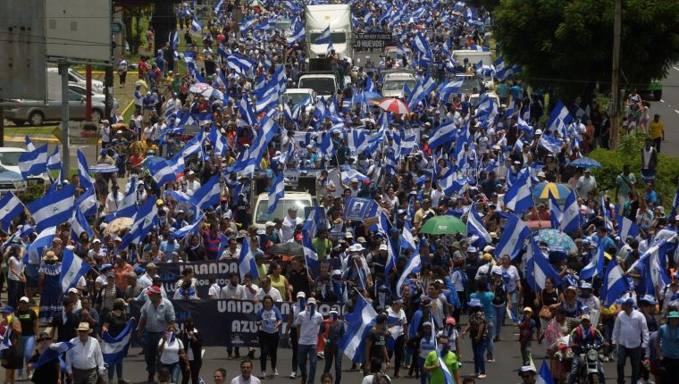 Resultado de imagen para Nicaragua vive una grave crisis desde abril de 2018