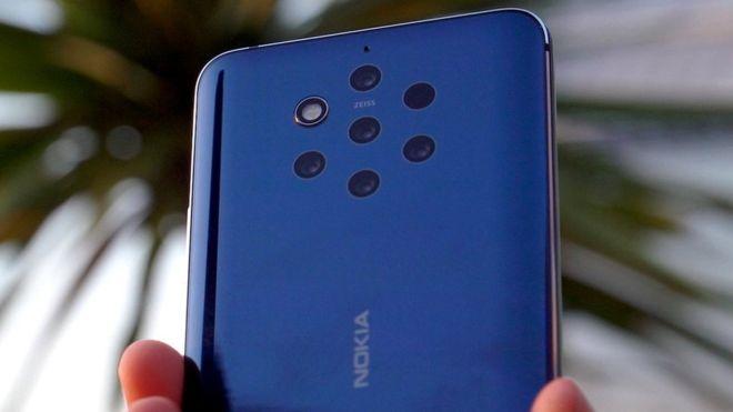 ¿Cuántas cámaras tiene el dorso de tu celular? Nokia 9 PureView es el primero en el mercado que ofrece cinco.