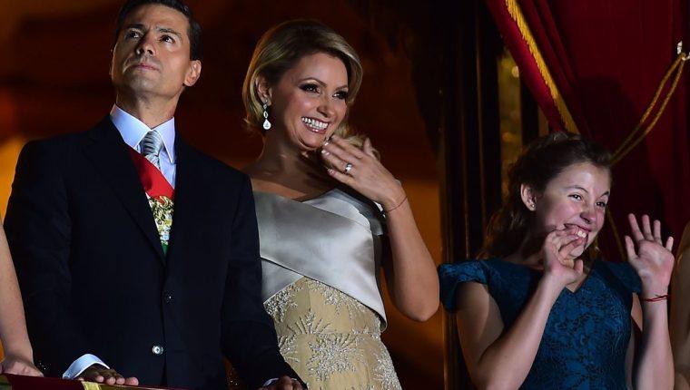 Enrique Peña Nieto y Angélica Rivera vivieron un matrimonio de casi 10 años (Foto Prensa Libre: AFP)
