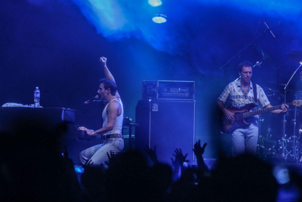 """""""Bohemian Rhapsody"""", fue uno de los temas con los que los seguidores de Queen ovacionaron a la banda Dios Salve a la Reina."""
