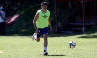 Robin Betancourth, delantero de la Selección de Guatemala. (Foto Prensa Libre: Hemeroteca PL)