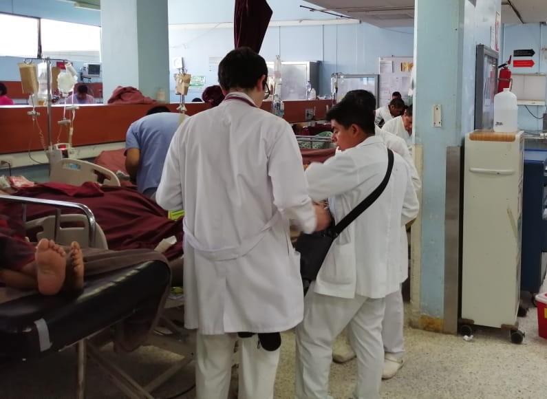 En el Hospital San Juan de Dios se impartirá la  Maestría de Ciencias Médicas con especialidad de Emergencias. (Foto Prensa Libre: Cortesía Hospital General)