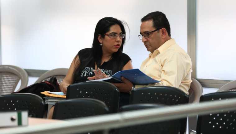 Sammy Morales, en una audiencia del juicio en su contra por el caso Botín en el Registro de la Propiedad. (Foto Prensa Libre: Hemeroteca PL)