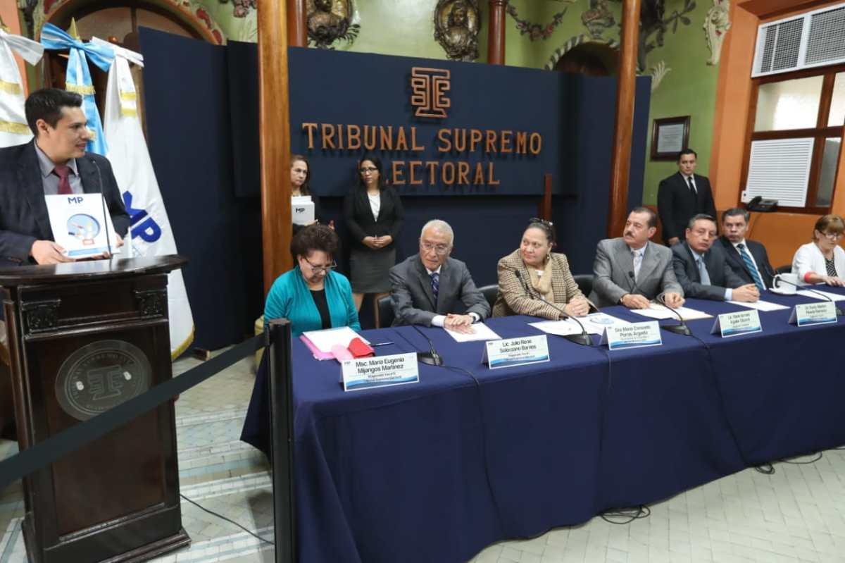 MP investiga a ocho partidos políticos por impedir la fiscalización de fondos