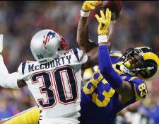 New England Patriots y Los Angeles Rams disputan el Super Bowl LIII. (Foto Prensa Libre AFP)