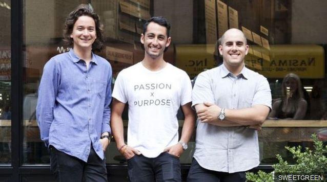 Nathaniel Ru, Jonathan Neman y Nicolas Jammet se conocieron en la universidad de Georgetown.