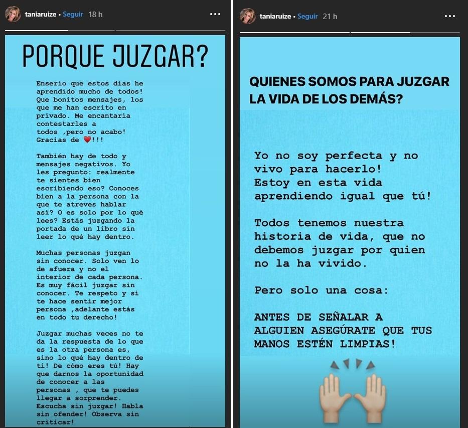 """La modelo compartió mensajes en su cuenta de Instagram dirigidos a quines """"juzgan"""". (Foto Prensa Libre: Instagram)"""