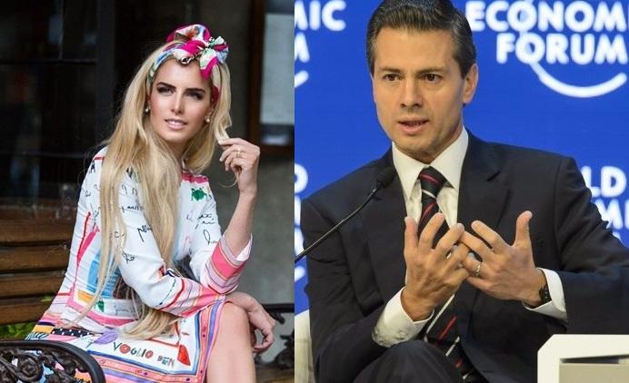 Medios internacionales vinculan sentimentalmente a Tania Ruiz Eichelmann y Enrique Peña Nieto. (Foto Prensa Libre: HemerotecaPL)