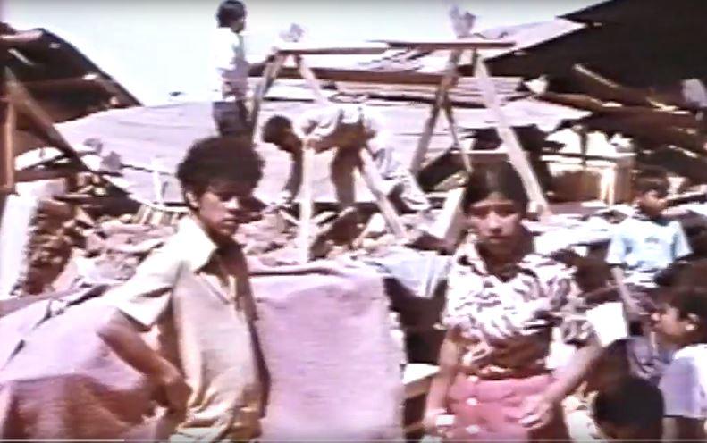 Un terremoto de 7.5 grados sacudió el país el 4 de febrero de 1976. (Foto Prensa Libre: Hemeroteca)
