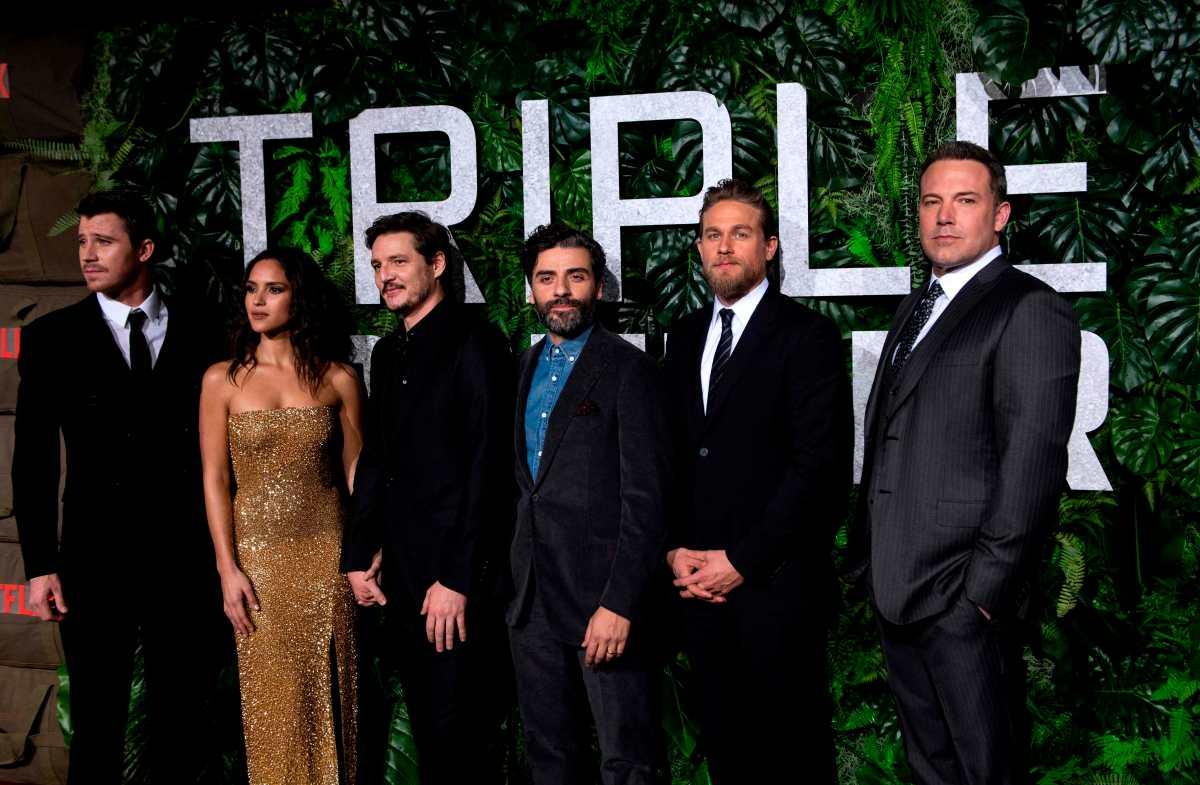 """""""Triple Frontier"""": la película de Netflix que reúne a Óscar Isaac y Adria Arjona"""