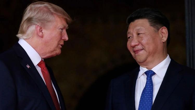 De Donald Trump y Xi Jinping depende el alcance que tendrá el conflicto comercial entre Estados Unidos y China. (Foto Prensa Libre: Infobae.com)