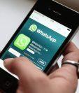 La aplicación de mensajería, WhatsApp, ahora permite a los usuarios de iPhone usar medidas de seguridad biométricas. (Foto Prensa Libre: Hemeroteca PL)