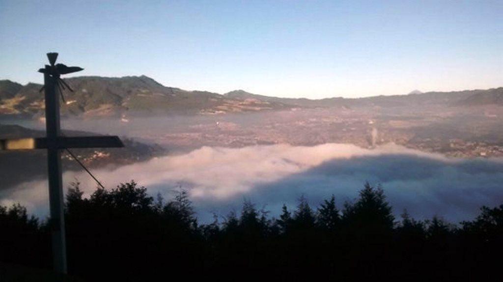 Frente frío congela a Quetzaltenango; la temperatura hoy fue de -1 grado centígrados