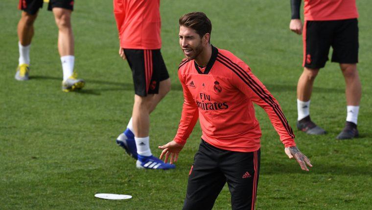 Sergio Ramos se refirió al desastre que vivió el Real Madrid en los últimos días al quedar sin posibilidades de ganar ningún título. (Foto Prensa Libre: AFP)