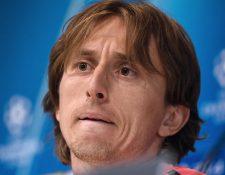 Luka Modric aseguró que ninguno de los delanteros del Real Madrid ha sabido tomar la estafeta después de la salida de Cristiano. (Foto Prensa Libre: AFP)