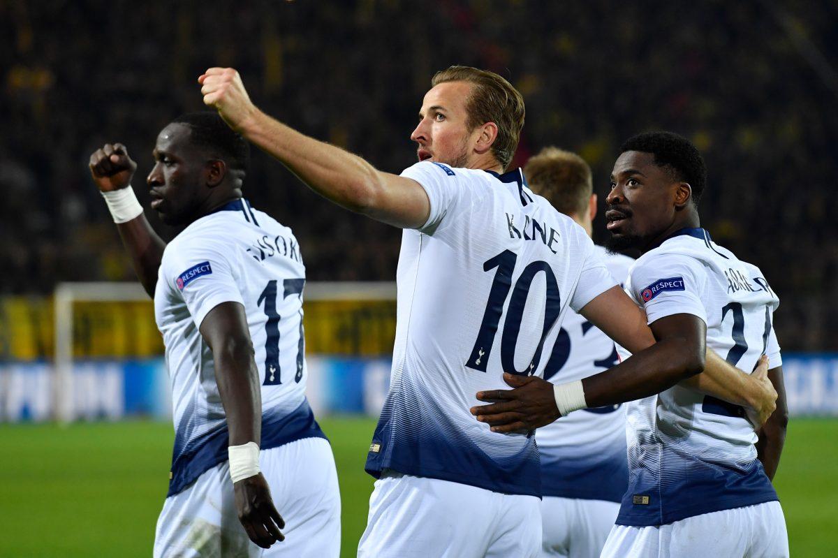 Kane sentencia contra el Borussia Dortmund y el Tottenham avanza a cuartos de final