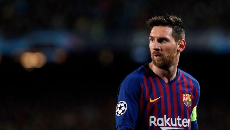 Lionel Messi destacó la remontada de la Juventus contra el Atlético de Madrid gracias a un triplete de Cristiano Ronaldo. (Foto Prensa Libre: AFP)