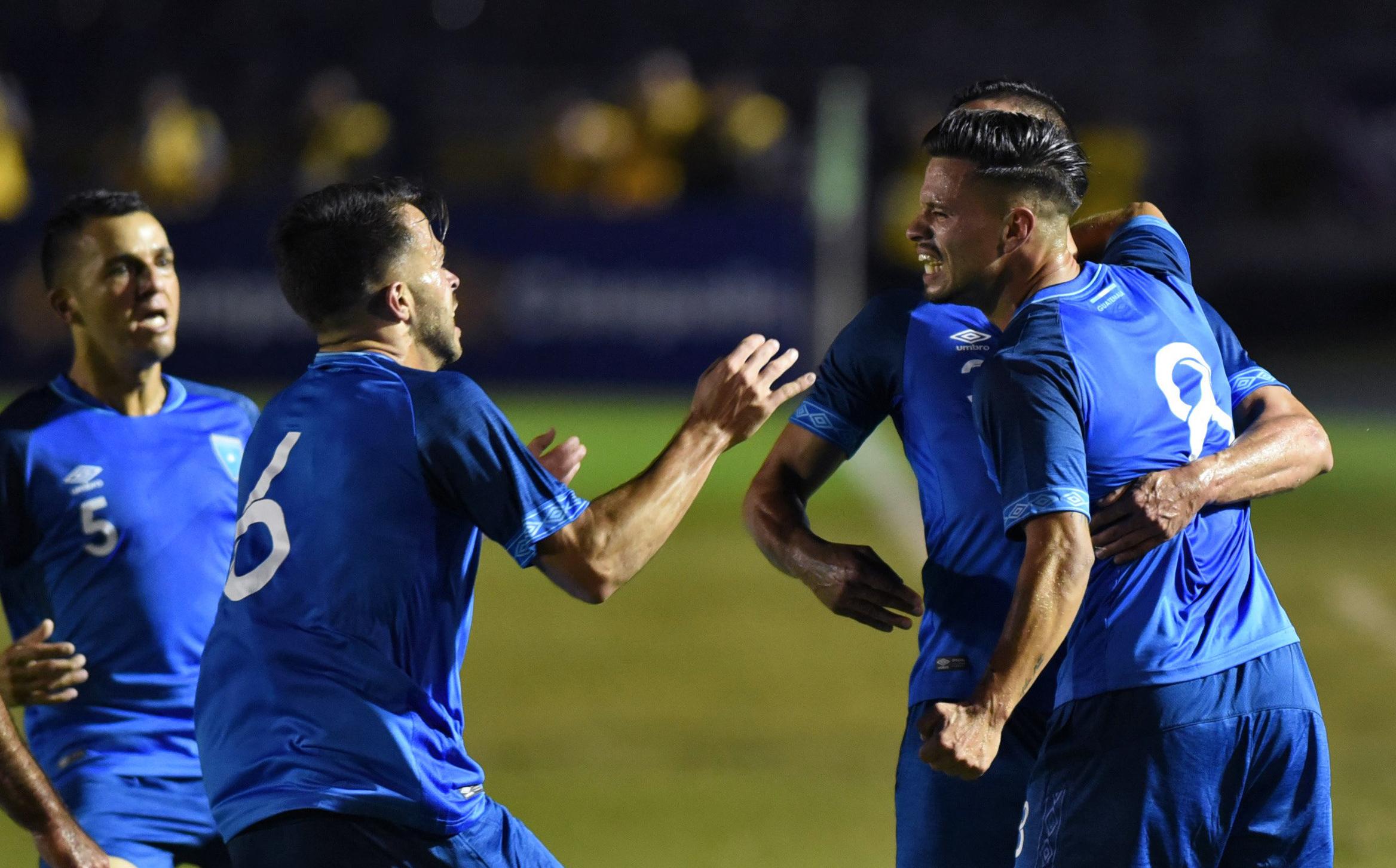 La Selección de Guatemala conocerá a sus rivales de la Liga de Naciones de Concacaf este miércoles. (Foto Prensa Libre: AFP)