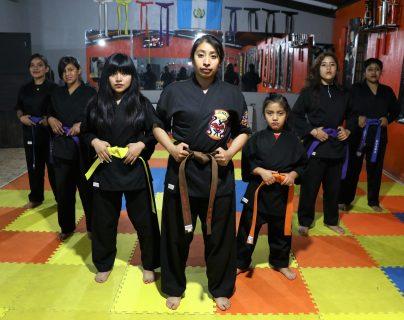 El curso es gratuito y las interesadas pueden acudir de preferencia con ropa deportiva. (Foto Prensa Libre: Raúl Juárez)