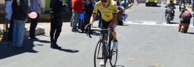Manuel Rodas había ganado dos de las cuatro etapas que se habían disputado en el tour de Tejutla. (Foto Prensa Libre: Cortesía Federación de Ciclismo)