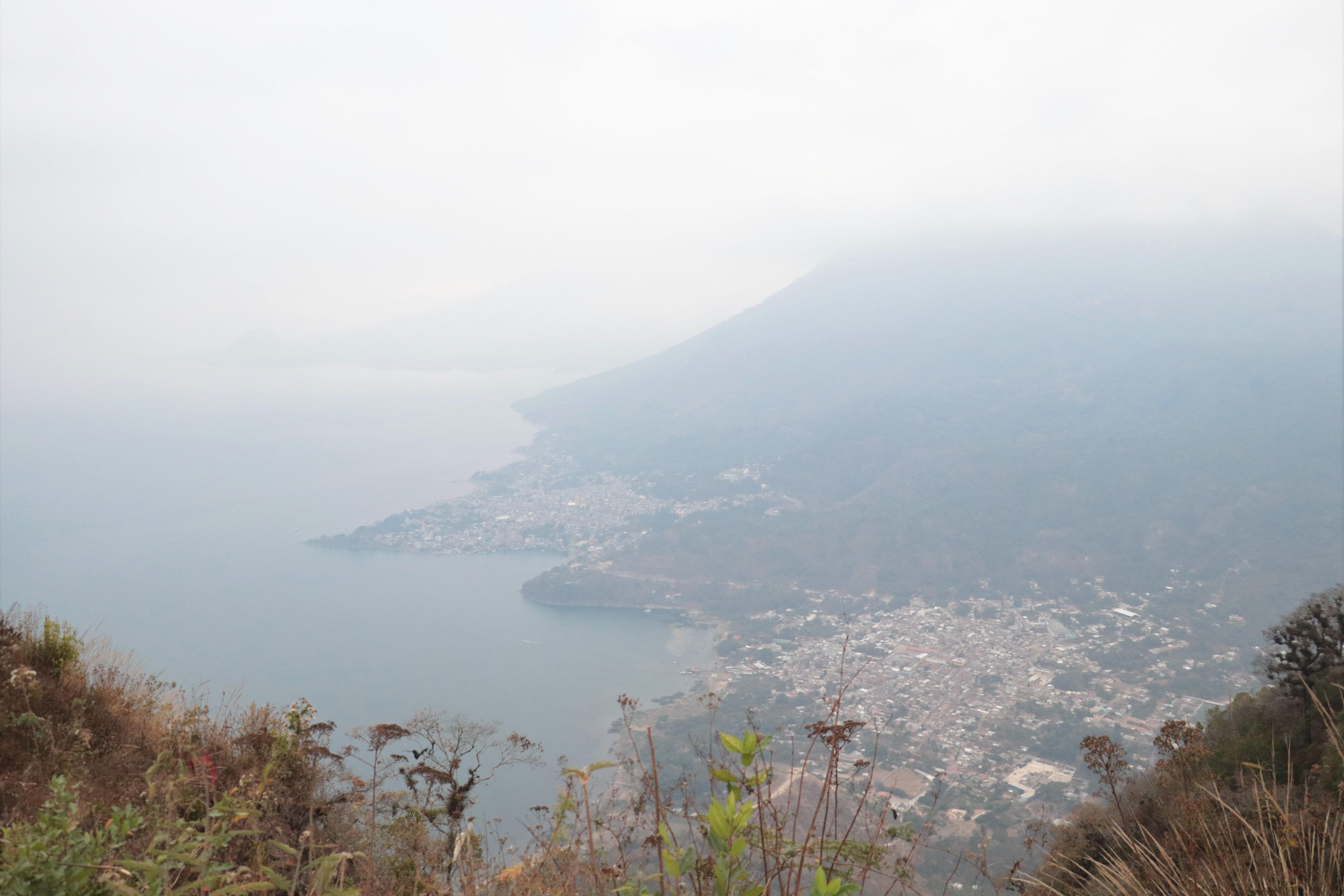 Panorámica desde la cima del cerro Nariz del Indio.
