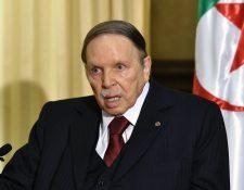 La última vez que el presidente Abdelaziz Bouteflika habló en público fue hace casi seis años.