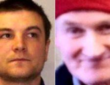 Steven Sidebottom (izquierda) fue hallado culpable del asesinato de Brian McKandie (derecha), aunque inicialmente se creyó que su muerte había sido fortuita. POLICÍA DE ESCOCIA
