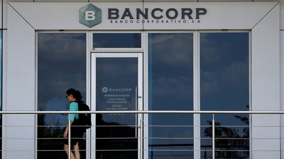 Bancorp es, desde su creación en 2015, un banco vinculado a una empresa nicaragüense de la petrolera venezolana PDVSA, ahora sancionada por EE.UU.