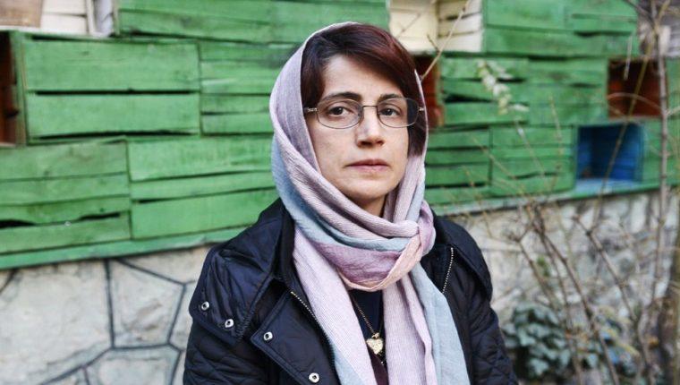 Al menos siete abogados de derechos humanos fueron arrestados en Irán en 2018. Nasrin fue una de ellos. GETTY IMAGES