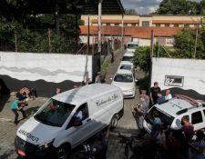 Los atacantes mataron a ocho personas antes de suicidarse.