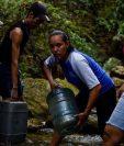 El apagón ha recrudecido los problemas de agua en Caracas.