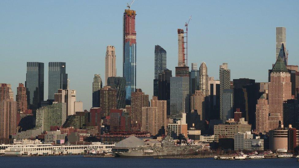 La silueta de Nueva York se renueva con sus rascacielos ultra finos.