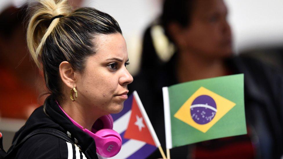 """El programa """"Más Médicos"""" arrancó en 2013 a iniciativa de la entonces presidenta de Brasil Dilma Rousseff. GETTY IMAGES"""