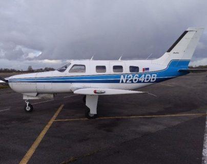 Este era el avión que llevaba a Emiliano Sala y que se hundió en el Canal de la Mancha.