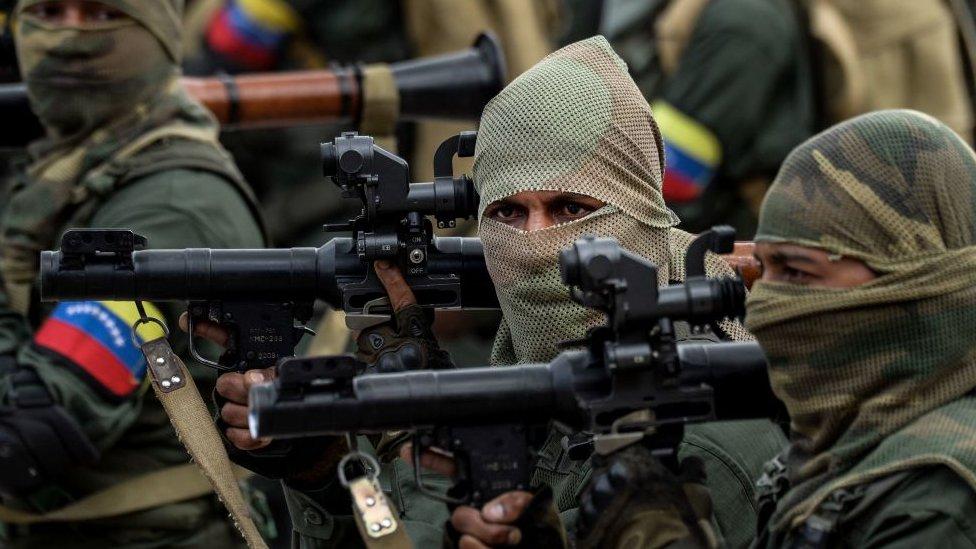 Buena parte de las armas mostradas por el ejército venezolano en sus desfiles militares es de procedencia rusa.