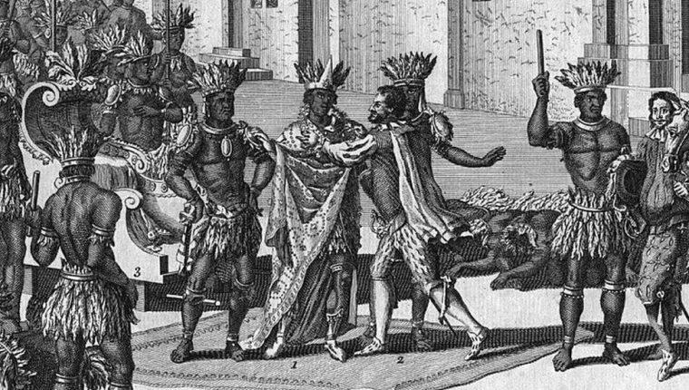 El territorio que ahora conforma México estuvo bajo el dominio español durante unos 300 años. GETTY