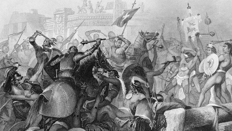 EEn 1521 se consumaba la conquista de los mexicas a manos del imperio español. GETTY IMAGES
