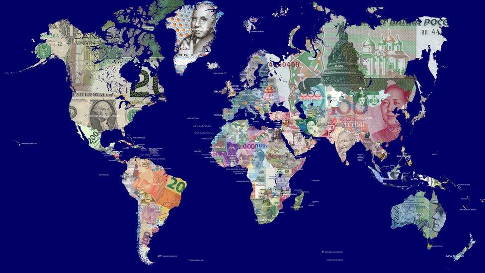 Los multimillonarios tampoco están repartidos equitativamente por el mundo.