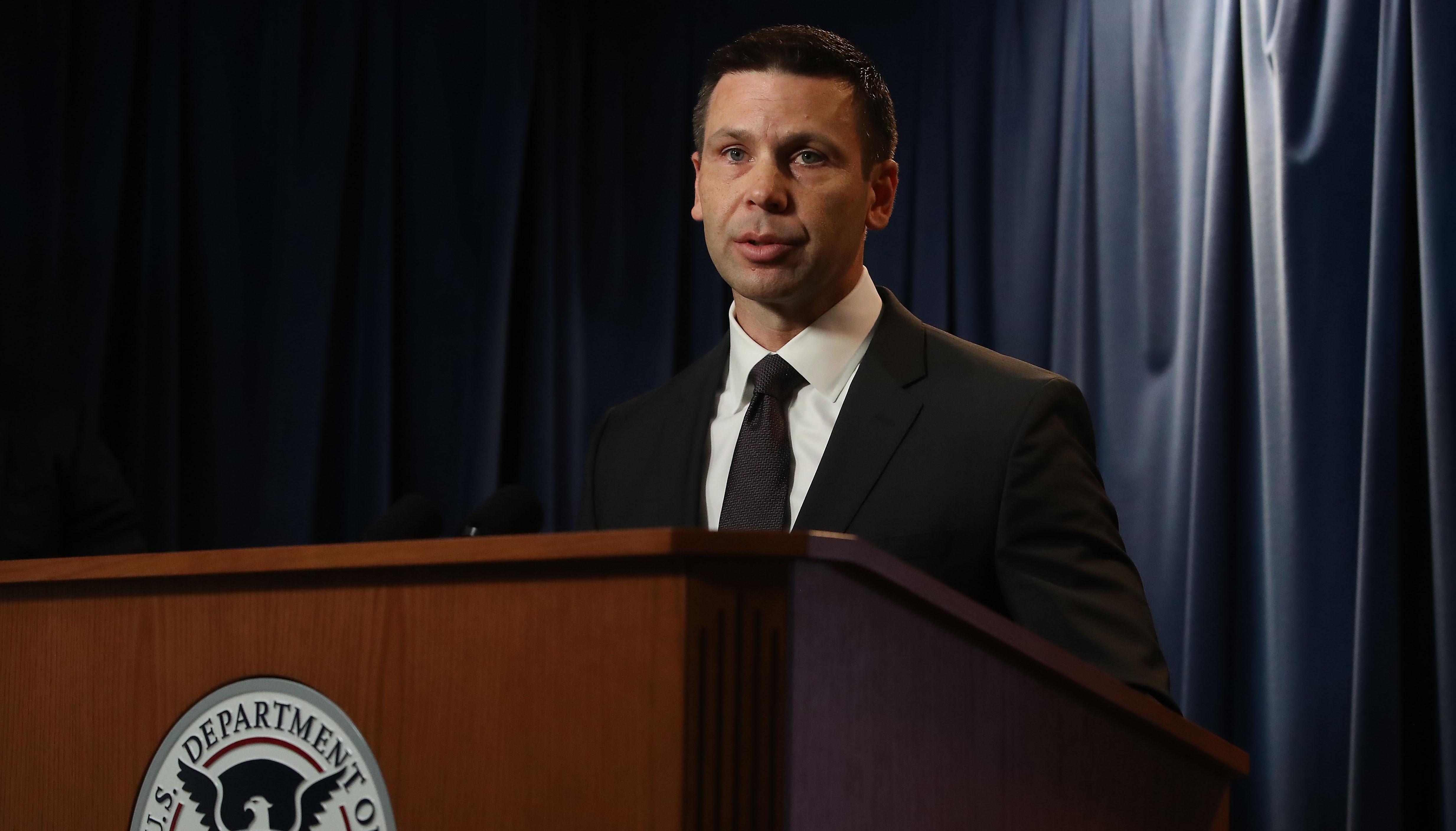 El nuevo secretario de Seguridad Interna de EE. U U., Kevin McAleenan, ha trabajado desde el 2006 en la Patrulla Fronteriza. (Foto Prensa Libre: EFE)