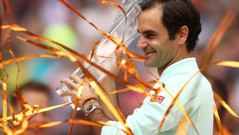 El suizo Roger Federer es uno de los tenistas más exitosos del deporte. (Foto Prensa Libre: AFP)