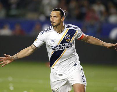 El delantero sueco Zlatan Ibrahimovic es uno de los jugadores más valiosos en la MLS. (Foto Prensa Libre: AFP)