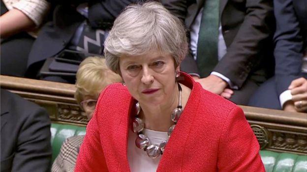 """May lamentó que los parlamentarios rechazaran """"el mejor y único acuerdo posible"""". REUTERS"""