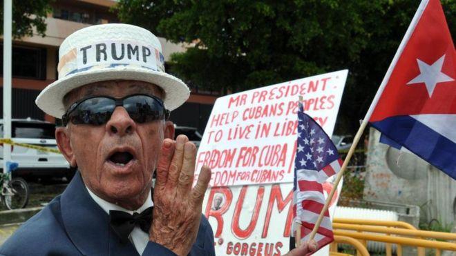 Las demandas son una vieja aspiración del exilio cubano que llegó tras el inicio de la Revolución en 1959. AFP
