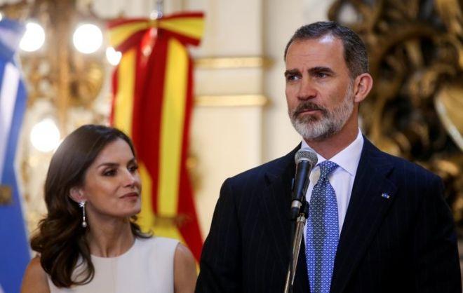 El gobierno de España lamentó que se hiciera pública la carta de AMLO al rey Felipe VI. REUTERS