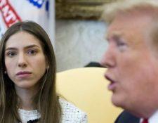 Rosales se reunió este miércoles con el presidente estadounidense Donald Trump. EPA