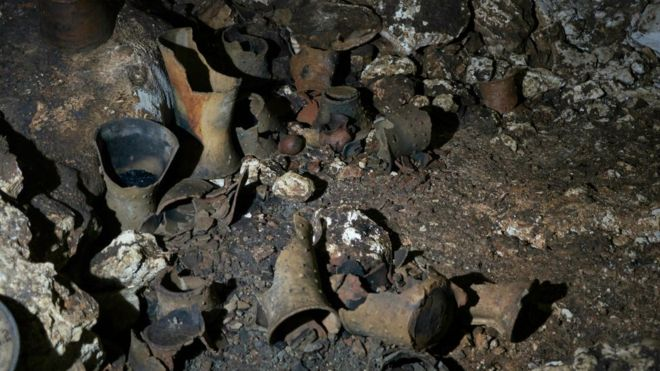 La cueva de Balamkú es uno de los mayores descubrimientos de la antigua civilización maya. KARLA ORTEGA/INAH