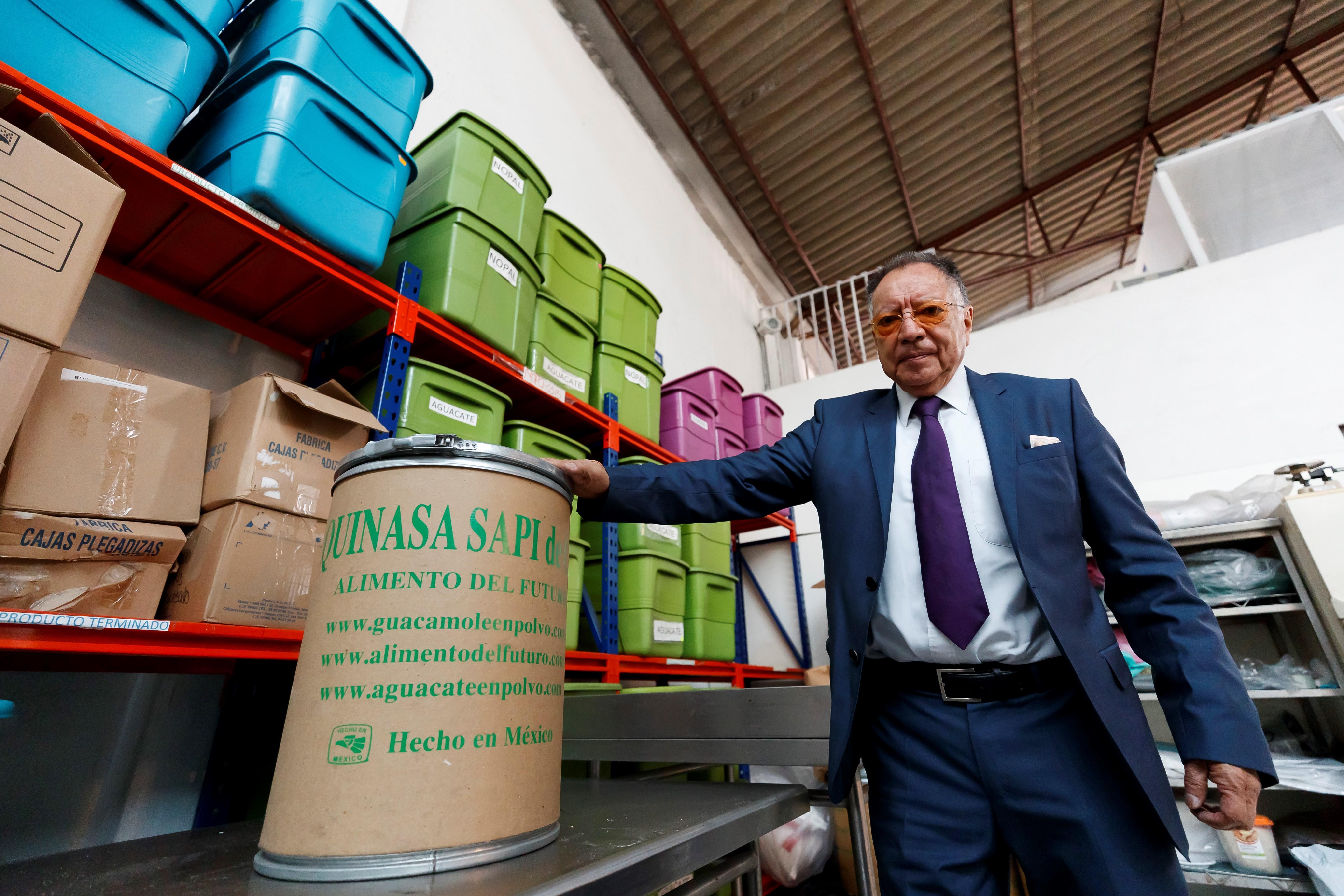 La empresa mexicana Quinasa está creando una fórmula que comprime los nutrientes necesarios para la alimentación humana. (Foto Prensa Libre: EFE)