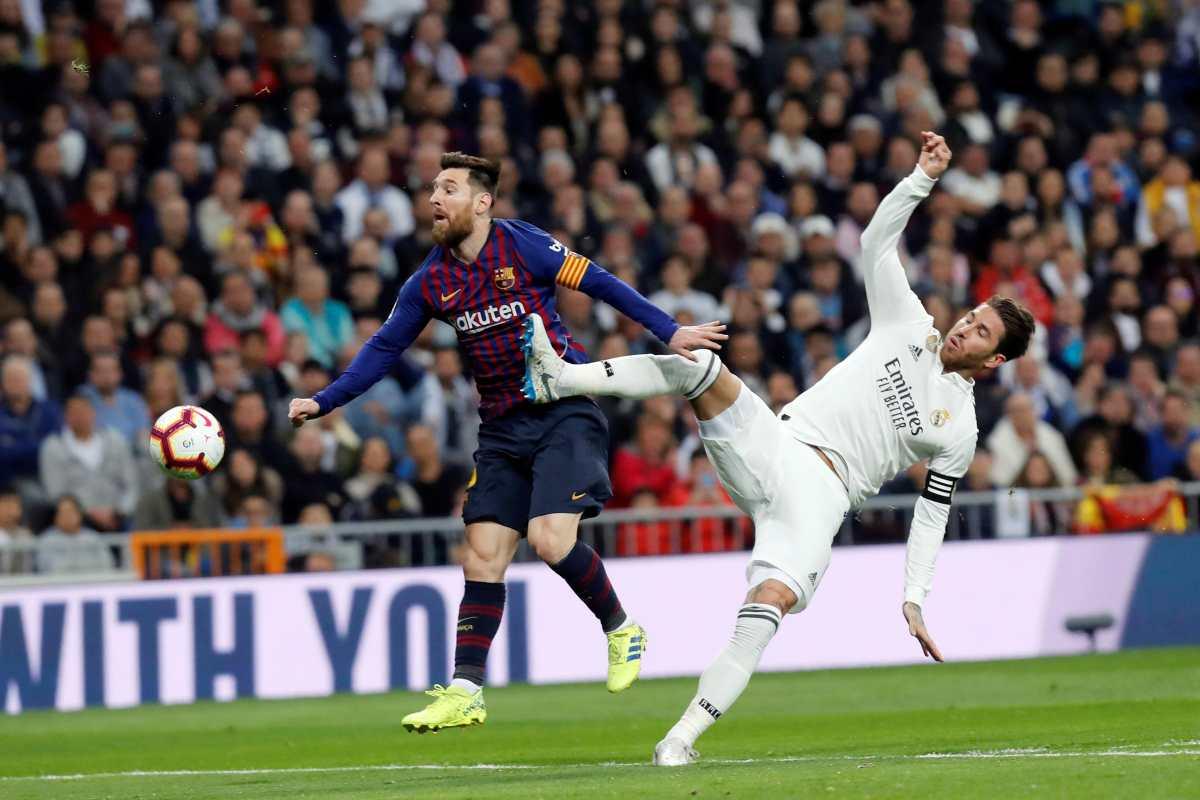 Primer Barcelona vs. Real Madrid en 15 años sin Leo Messi y Sergio Ramos, que ahora están juntos en el PSG